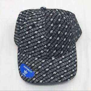 adidas Accessories - Adidas Original Allover Print StrapBack Hat
